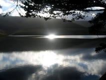 Reflexion auf See Lizenzfreies Stockbild