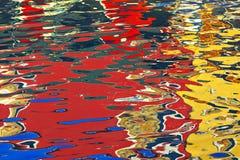 Reflexion auf Venedig Stockbilder