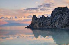 Reflexion av berg Royaltyfri Foto