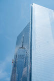 Reflexion av en värld, New York Arkivbild