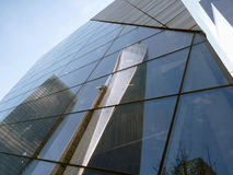 Reflexion av en World Trade Center royaltyfri bild