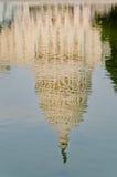Reflexion av US-Capitolbyggnad, Washington DC Royaltyfri Foto