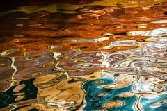 Reflexion av vattnet royaltyfria foton