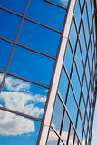Reflexion of clouds in building windows Stock Photography