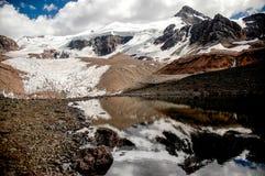 Reflexion in der Landschaft von Aconcagua Lizenzfreies Stockbild