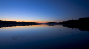 Reflexion des Morgen-Sternes Stockbild