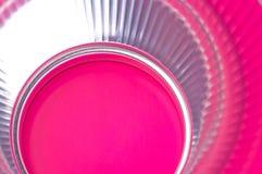 Reflexion des rosa Lichtes im Reflektor Lizenzfreies Stockbild