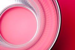 Reflexion des rosa Lichtes im Reflektor Lizenzfreie Stockfotografie