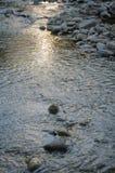 Reflexion des Sonnenlichts auf dem Wasser Lizenzfreie Stockfotos