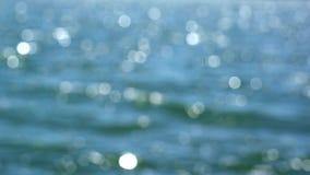 REFLEXION DES SONNENLICHTS AUF WASSER stock video footage