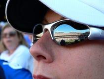 Reflexion des Spiels. lizenzfreie stockfotos