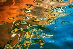 Reflexion des Wassers lizenzfreies stockfoto