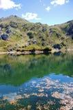 Reflexion in einem See Stockfotografie