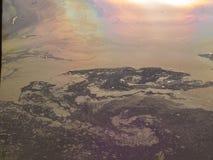 Reflexion in einem Teich Lizenzfreies Stockbild