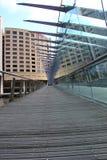 Reflexion eines Hotels Stockbild