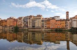 Reflexion in Florenz Stockbilder