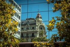 Reflexion in Granada Stockfotos