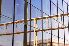 Reflexion im Haus Lizenzfreies Stockbild