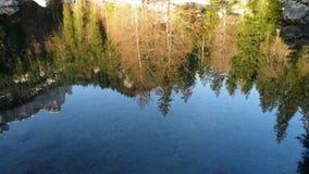Reflexion im Wasser lizenzfreie stockfotografie