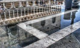 Reflexion im Wasser Lizenzfreies Stockbild