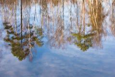 Reflexion im Wasser Lizenzfreies Stockfoto
