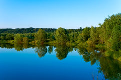 Reflexion in lake Stock Photography