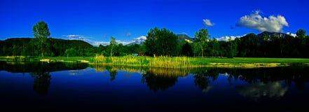 Reflexion lake Arkivfoton