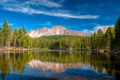 Reflexion Mt-Lassen Stockfotografie