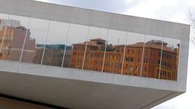 reflexion Nationalmuseum des Jahrhunderts XXI (M stock video footage