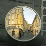 Reflexion på bransch fotografering för bildbyråer