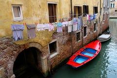 Reflexion in Venedig Lizenzfreie Stockfotografie