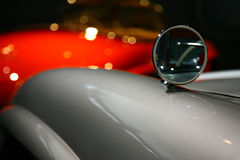 Reflexion of a vintage car Stock Photography
