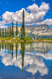 Reflexion von Blackcomb Stockfoto