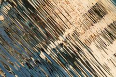 Reflexion von Fenstern im Wasser von See Lizenzfreie Stockfotos
