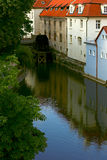 Reflexion von Prag Lizenzfreies Stockbild