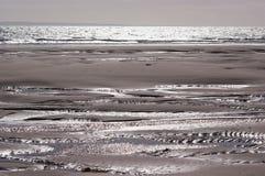 Reflexionen auf dem Strand Lizenzfreie Stockfotos