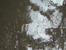 Reflexionen auf dem Wasser nahe dem Møllehuset stock footage