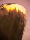 Reflexionen auf Skylinen lizenzfreie stockfotografie