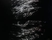 Reflexionen des Mondscheins Lizenzfreies Stockbild