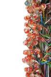 reflexionen för kabelanslutning sken Royaltyfri Foto