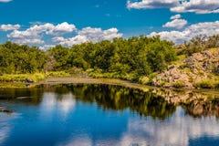 Reflexionen im Wasser Stockfoto