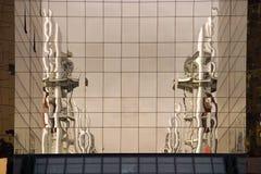 Reflexionen Salford Kais, Manchester stockbild