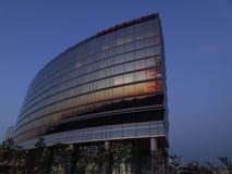 Reflexionen und moderne Architektur Stockfoto