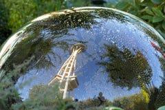 Reflexionen von Seattle lizenzfreie stockfotografie