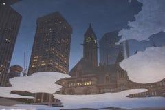 Reflexionen von Toronto Stockfoto