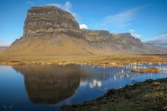 Reflexioner av Island Fotografering för Bildbyråer