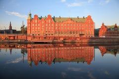 Reflexioner av Köpenhamnen Royaltyfria Foton