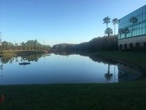 Reflexioner av sjön Royaltyfria Foton