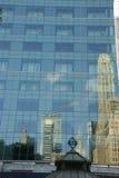 Reflexioner av skyskrapor Royaltyfri Fotografi