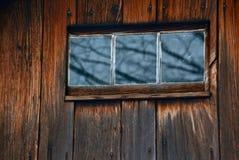 Reflexioner av vintern arkivfoto